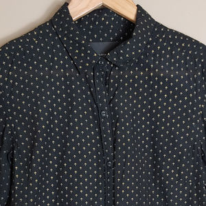 Maison Scotch fleur dis lis Button Shirt